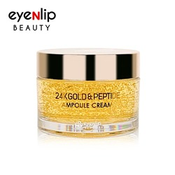 [EYENLIP] 24K Gold & Peptide Ampoule Cream 50g (Weight : 138g)