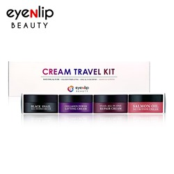 [EYENLIP] Cream Travel Kit (15ml * 4pcs) (Weight : 145g)