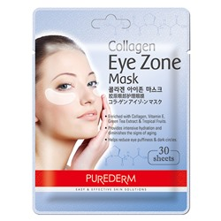 [PUREDERM] Collagen Eye Zone Mask 30 sheets (Weight : 34g)