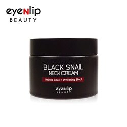 [EYENLIP] Black Snail Neck Cream 50g (Weight : 116g)