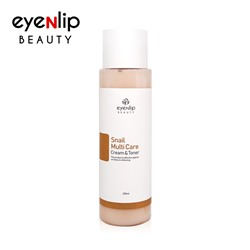 [EYENLIP] Snail Multi Care Cream & Toner 200ml (Weight : 297g)