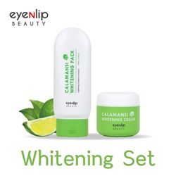 [EYENLIP] Calamansi Whitening Pack 200ml + Calamansi Whitening Cream 50ml Set (Weight : 365g)