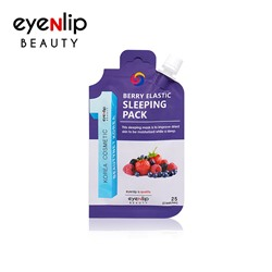 [EYENLIP] Berry Elastic Sleeping Pack 25g (Weight : 32g)