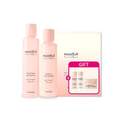 [ETUDE HOUSE] Moistfull Collagen Skin Care Set (2 Kinds) [Renewal in 2019] (Weight : 827g)