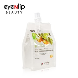 [EYENLIP] 92% Real Tangerine Soothing Gel 300g (Weight : 323g)